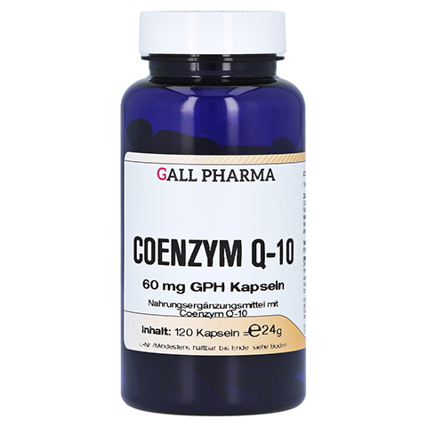 COENZYM Q10 60 mg GPH Kapseln 120 Stück
