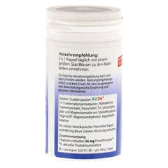 PREISELBEERE amerikanisch 400 mg Kapseln 60 St�ck - Linke Seite