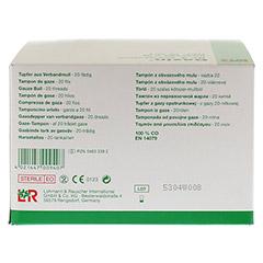 GAZIN Tupfer pflaumengro� steril Gr.3 20f�dig 30x3 St�ck - Rechte Seite