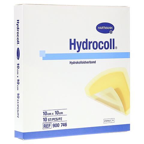 HYDROCOLL Wundverband 10x10 cm 10 St�ck