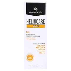 HELIOCARE 360� Gel SPF 50+ 50 Milliliter - Vorderseite