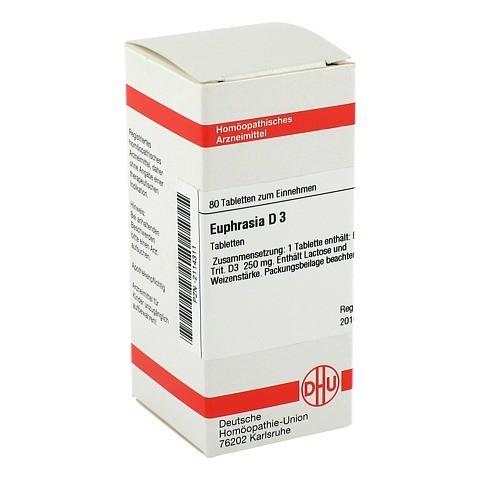 EUPHRASIA D 3 Tabletten 80 Stück N1