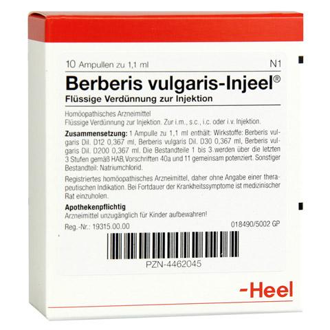 BERBERIS VULGARIS INJEEL Ampullen 10 St�ck N1