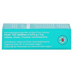 LACTOSTOP 5.500 FCC Tabletten Klickspender 120 Stück - Linke Seite