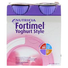 FORTIMEL Yoghurt Style Himbeergeschmack 4x200 Milliliter - Vorderseite