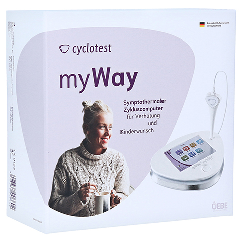 CYCLOTEST myWay Zykluscomputer 1 Stück