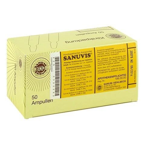 SANUVIS Injektion Ampullen 50x2 Milliliter N2
