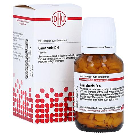 CINNABARIS D 4 Tabletten 200 St�ck N2