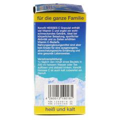 XENOFIT hei�es C Granulat Beutel 10x9 Gramm - Rechte Seite