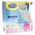 SCHOLL Velvet smooth Pedi wet & dry Vorteilspack