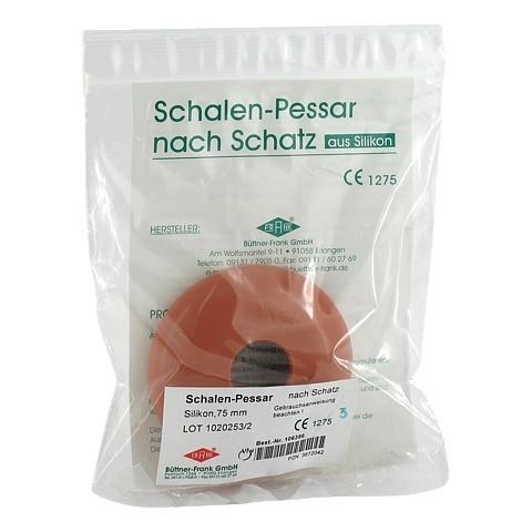 SCHALENPESSAR Silikon 75 mm n.Schatz 1 Stück