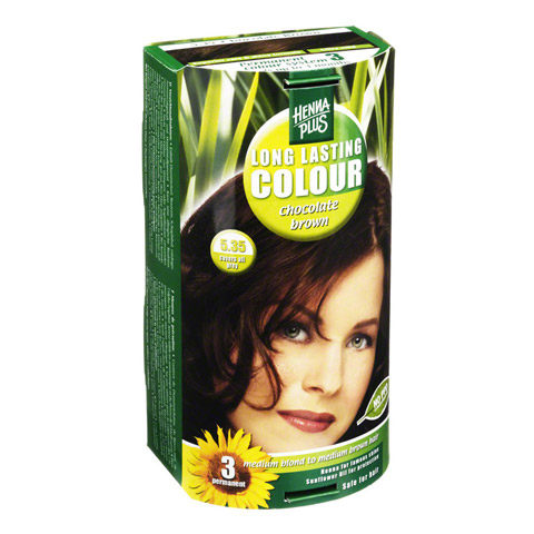 HENNAPLUS Long Lasting chocolate brown 5,35 100 Milliliter