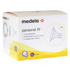 MEDELA Personal Fit Brusthaube Gr.XL 2 St 1 Packung