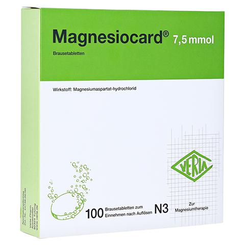 MAGNESIOCARD 7,5 mmol Brausetabletten 100 St�ck N3