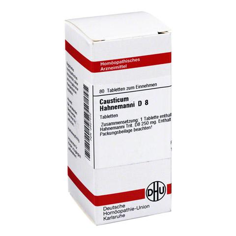 CAUSTICUM HAHNEMANNI D 8 Tabletten 80 Stück N1