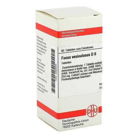 FUCUS VESICULOSUS D 6 Tabletten 80 St�ck N1