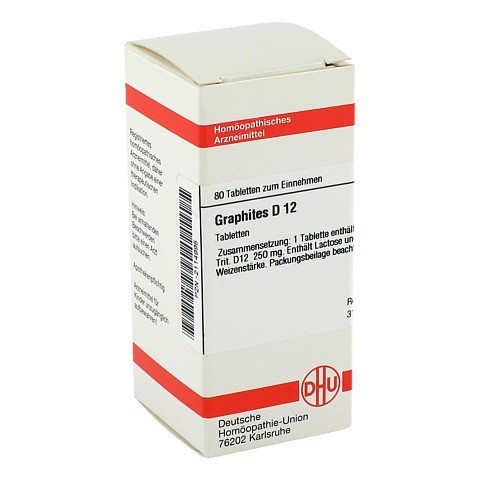 GRAPHITES D 12 Tabletten 80 St�ck N1