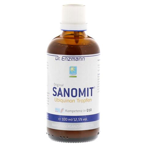 SANOMIT Ubiquinon Tropfen 100 Milliliter