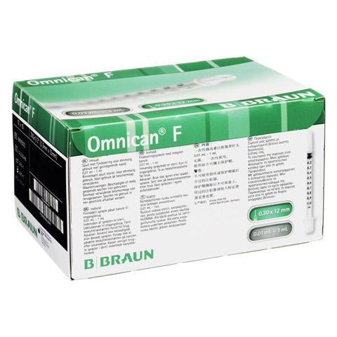 OMNICAN F 1 ml Feindosierungspr.1 ml 30 Gx12 mm 100x1 Milliliter