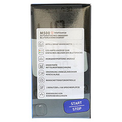 OMRON M500IT Oberarm Blutdruckmessgerät 1 Stück - Rechte Seite