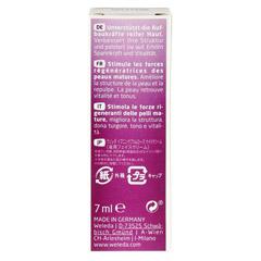 WELEDA Nachtkerze festigende Nachtpflege Creme 7 Milliliter - Rückseite
