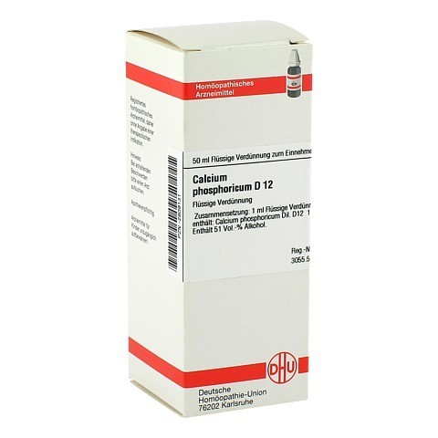 CALCIUM PHOSPHORICUM D 12 Dilution 50 Milliliter N1