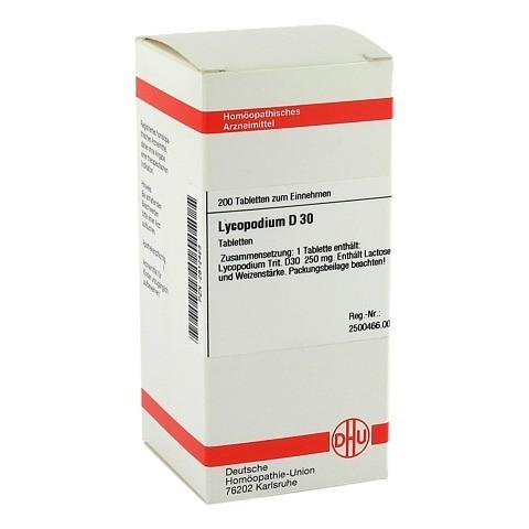 LYCOPODIUM D 30 Tabletten 200 Stück