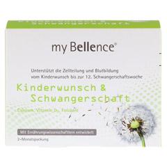 MY BELLENCE Kinderwunsch&Schwangerschaft Kombip. 2x60 Stück - Vorderseite