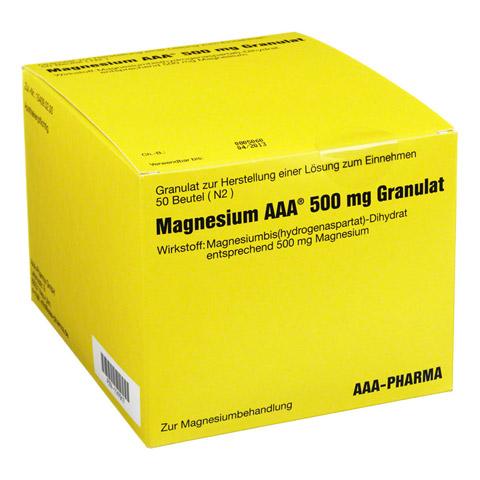 MAGNESIUM AAA 500 mg Granulat 50 Stück N2