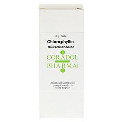 CHLOROPHYLLIN Hautschutz-Salbe 30 Milliliter - Vorderseite