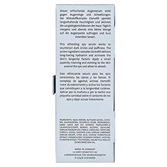 LA MER Ultra Hydro Booster Multi Effect Augenserum ohne Parfüm 15 Milliliter - Rückseite