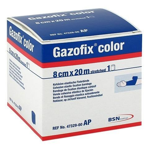 GAZOFIX color Fixierbinde 8 cmx20 m blau 1 Stück