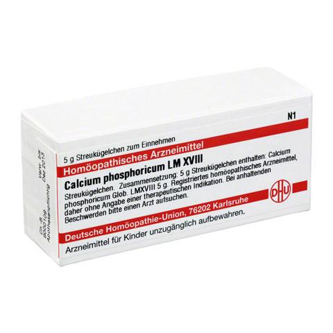 LM CALCIUM phosphoricum XVIII Globuli 5 Gramm N1