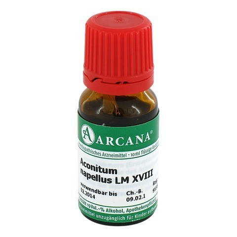 ACONITUM Arcana LM 18 Dilution 10 Milliliter N1