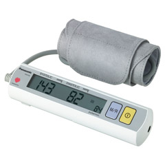 PANASONIC EW3109 Diagnostec Oberarm Blutdruckm. 1 St�ck - R�ckseite