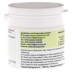 PANGAM Vitamin B15 Kapseln 120 Stück - Rückseite