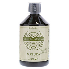 OLIVENBLATT Extrakt NATURA 100% naturrein pur 500 Milliliter