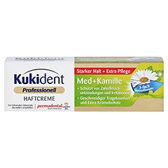 KUKIDENT Haftcreme Med + Kamille 40 Gramm - Vorderseite