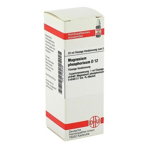 MAGNESIUM PHOSPHORICUM D 12 Dilution 20 Milliliter N1