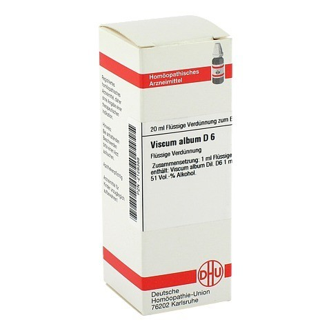 VISCUM ALBUM D 6 Dilution 20 Milliliter N1