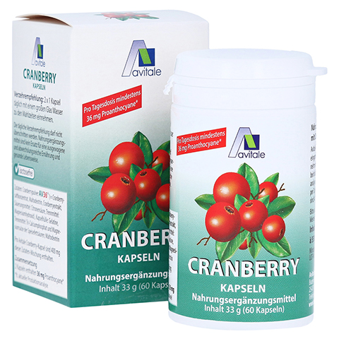 CRANBERRY KAPSELN 400 mg 60 St�ck