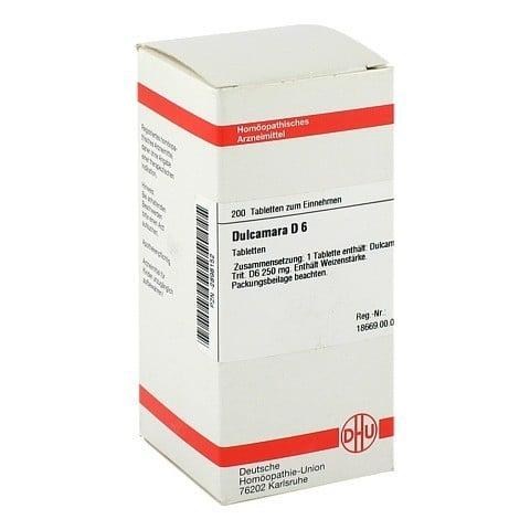 DULCAMARA D 6 Tabletten 200 St�ck N2