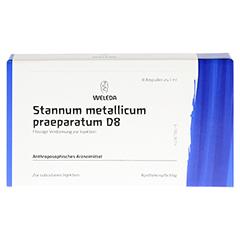 STANNUM METALLICUM praeparatum D 8 Ampullen 8x1 Milliliter N1 - Vorderseite