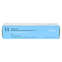 BIOCHEMIE DHU 11 Silicea D 4 Gel 50 Gramm N1 - Oberseite