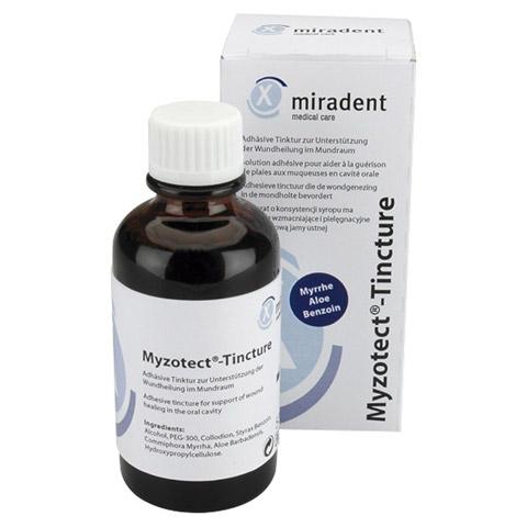 MIRADENT Wundengel Myzotect-Tinktur 50 Milliliter