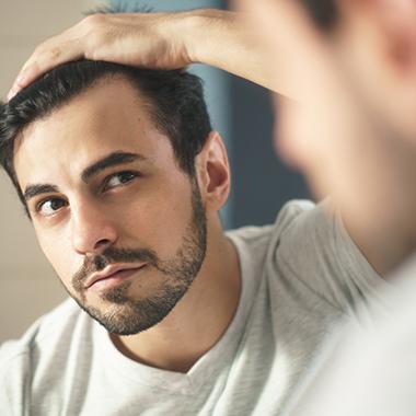 Themenshop Ursachen Haarausfall