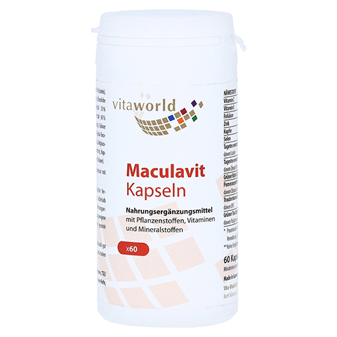 MACULAVIT Lutein 7,5 mg Kapseln 60 St�ck