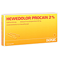 HEWEDOLOR Procain 2% Ampullen 10 St�ck N1