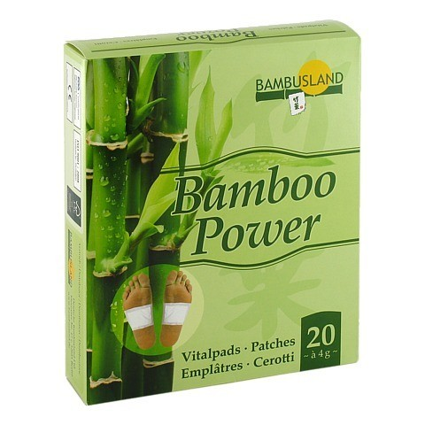 BAMBOO Power Vitalpflaster 20 Stück