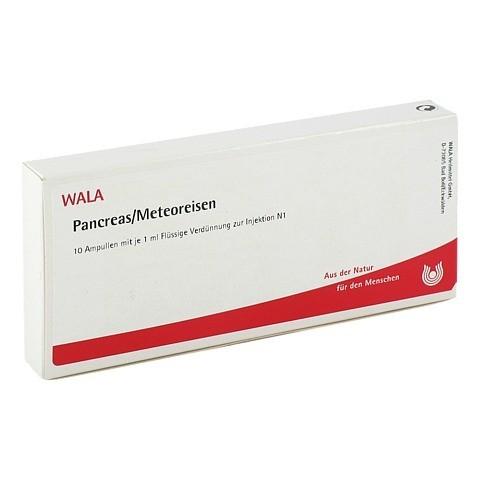 PANCREAS/ METEOREISEN Ampullen 10x1 Milliliter N1